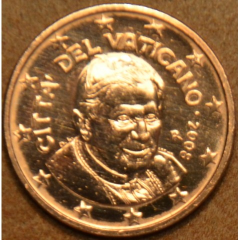 1 cent Vatican 2008 (BU)