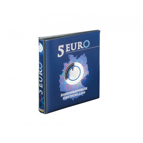 Lindner empty album for 5 Euro coins Germany 2016-