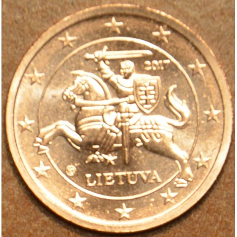 2 cent Lithuania 2017 (UNC)