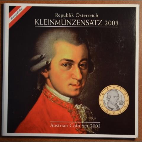 Set of 8 coins Austria 2003 (BU)