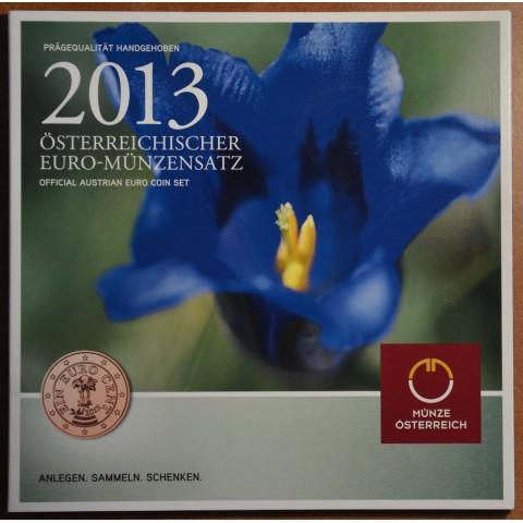 Set of 8 coins Austria 2013 (BU)