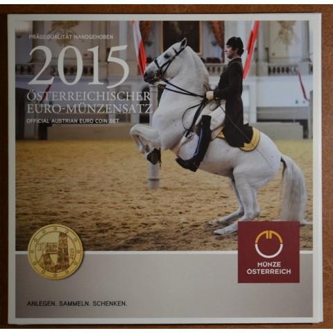 Official set of 8 coins of Austria 2015  (BU)