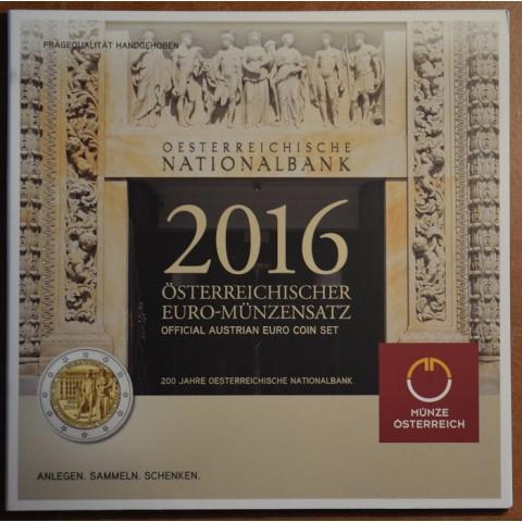Official set of 8 coins of Austria 2016  (BU)