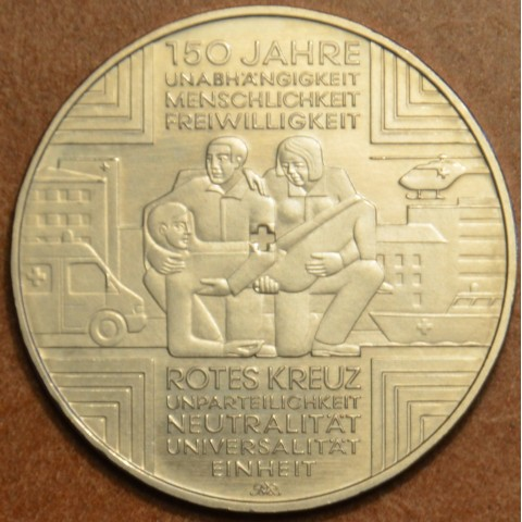 "10 Euro Germany ""A"" 2013 Red cross (UNC)"