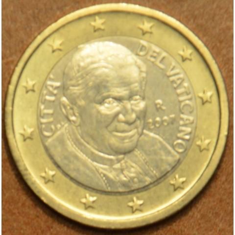 1 Euro Vatican His Holiness Pope Benedict XVI. 2007 (BU)