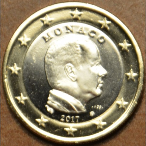 1 Euro Monaco 2017 (UNC)