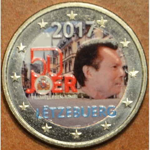 2 Euro Luxembourg 2017 - Military service II. (colored UNC)
