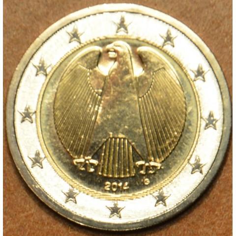 "2 Euro Germany ""G"" 2014 (UNC)"