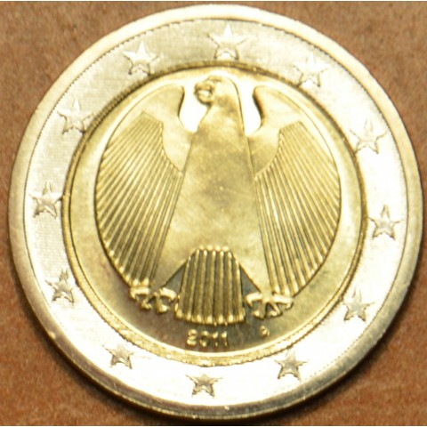 "2 Euro Germany ""A"" 2011 (UNC)"