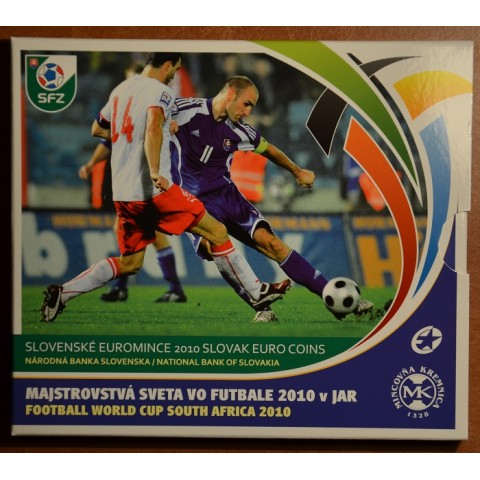 Set of Slovak coins 2010 - Futball championship in South Aftrica (BU)