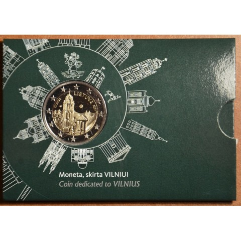 2 Euro Lithuania 2017 - Vilnius (BU card)