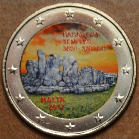 2 Euro Malta 2017 - Hagar Qim II. (colored UNC)