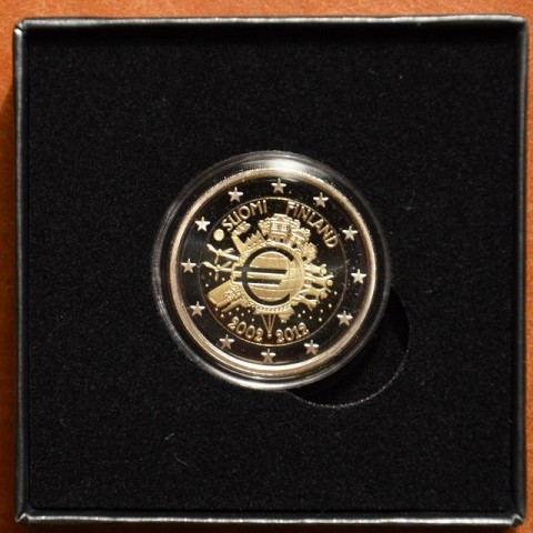 2 Euro Finland 2012 - Ten years of Euro  (Proof)