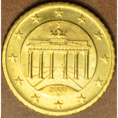 """50 cent Germany """"A"""" 2008 (UNC)"""