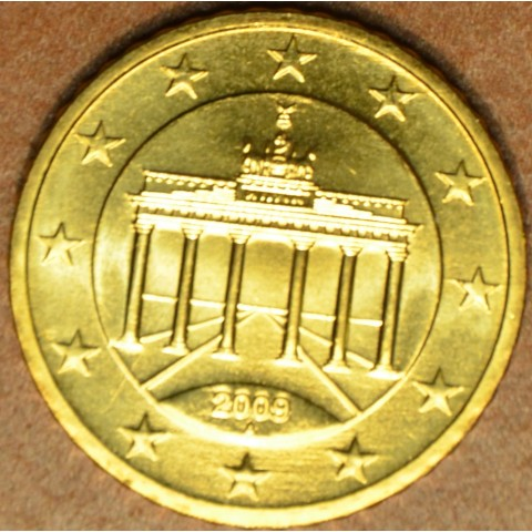 """50 cent Germany """"A"""" 2009 (UNC)"""
