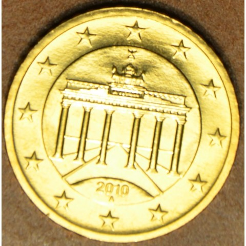 """50 cent Germany """"A"""" 2010 (UNC)"""