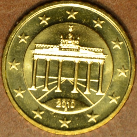 "50 cent Germany ""F"" 2010 (UNC)"
