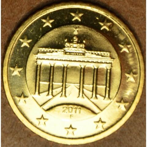 "50 cent Germany ""F"" 2011 (UNC)"