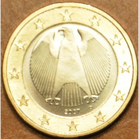 "1 Euro Germany ""D"" 2007 (UNC)"