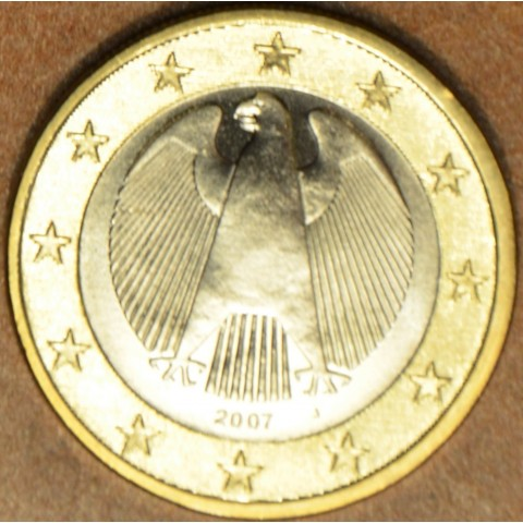 "1 Euro Germany ""J"" 2007 (UNC)"