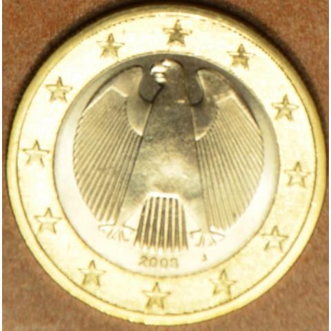 "1 Euro Germany ""J"" 2008 (UNC)"