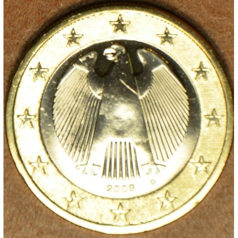 "1 Euro Germany ""D"" 2009 (UNC)"