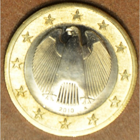 "1 Euro Germany ""A"" 2010 (UNC)"