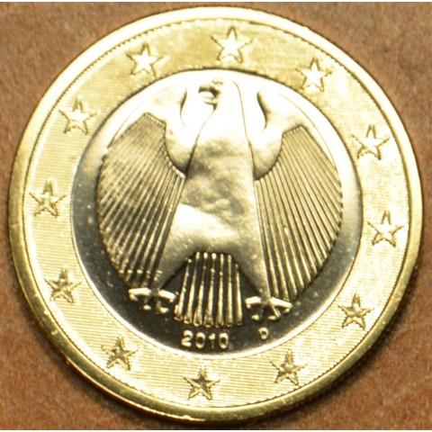 "1 Euro Germany ""D"" 2010 (UNC)"