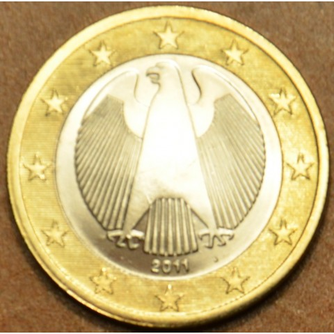 "1 Euro Germany ""J"" 2011 (UNC)"