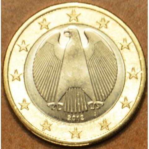 "1 Euro Germany ""J"" 2012 (UNC)"