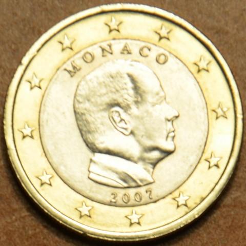 1 Euro Monaco 2007 without mintmark (UNC)