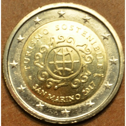 2 Euro San Marino 2017 - Year of the toursim (UNC)
