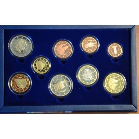 Set of 9 Euro coins San Marino 2013 (Proof)