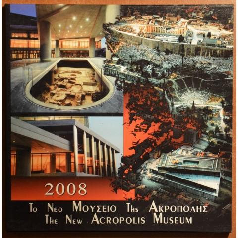 Greece 2008 official set Acropolis incl. 10 Euro silver coin (BU)