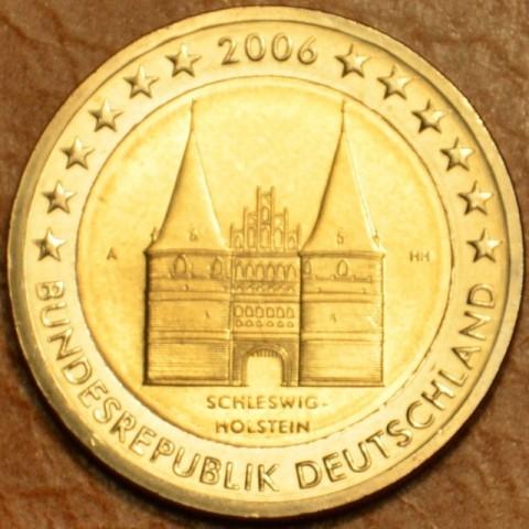 """2 Euro Germany """"A"""" 2006 - Holstentor in Lübeck / Schleswig-Holstein (UNC)"""