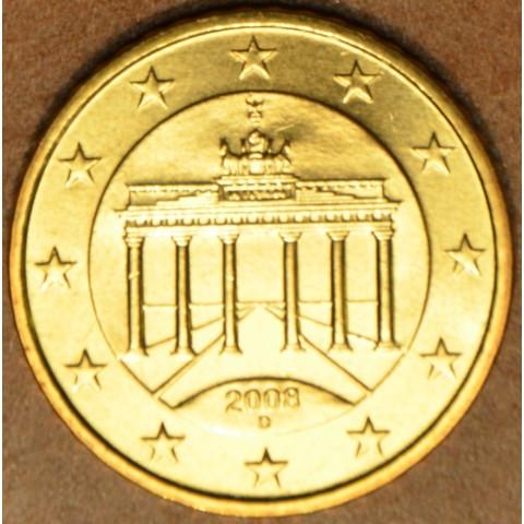 """10 cent Germany """"D"""" 2008 (UNC)"""