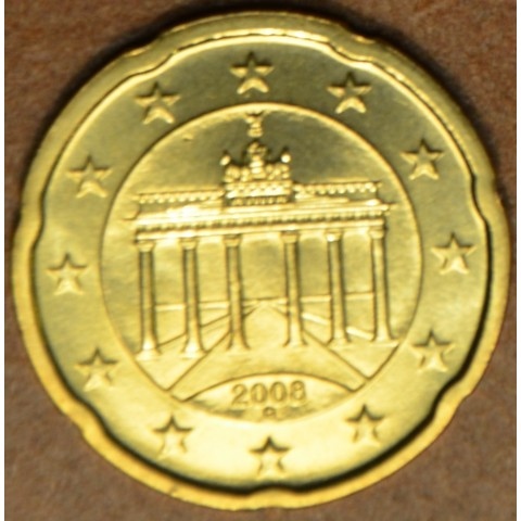 """20 cent Germany """"G"""" 2008 (UNC)"""