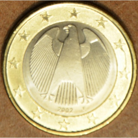 "1 Euro Germany ""F"" 2002 (UNC)"
