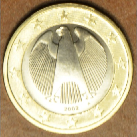 """1 Euro Germany """"A"""" 2002 (UNC)"""