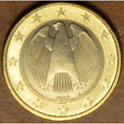 "1 Euro Germany ""J"" 2002 (UNC)"