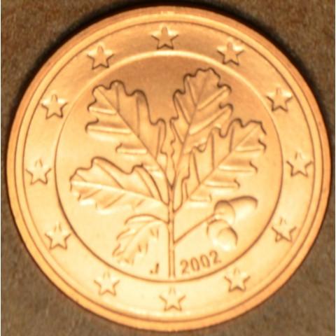 "1 cent Germany ""J"" 2002 (UNC)"