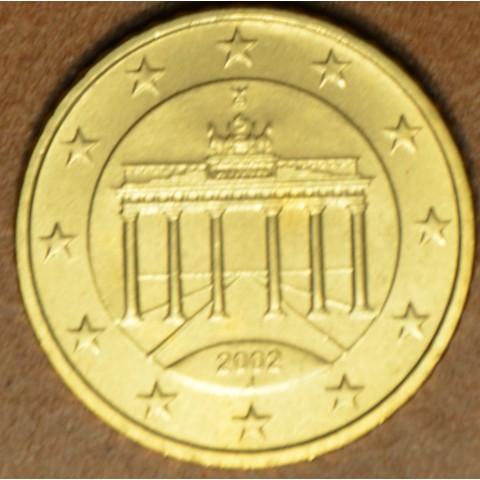 "50 cent Germany ""J"" 2002 (UNC)"