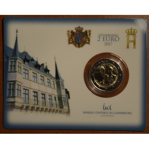 2 Euro Luxembourg 2017 - Grand Duke Guillaume III (UNC)