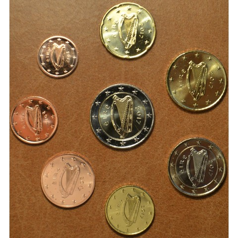 Set of 8 coins Ireland 2017 (UNC)