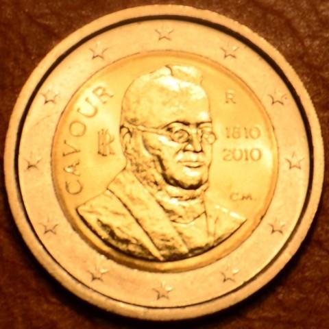 2 Euro Italy 2010 - 200th anniversary of birth of Camillo Benso (UNC)
