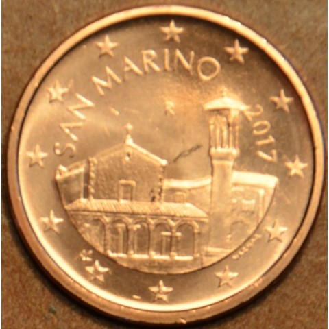 5 cent San Marino 2017 - New design (UNC)