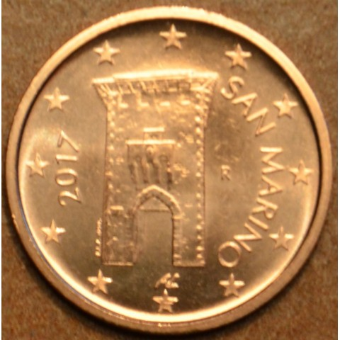 2 cent San Marino 2017 - New design (UNC)