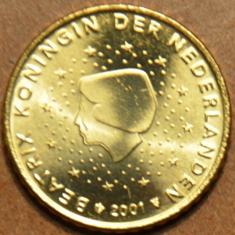50 cent Netherlands 2001 (UNC)