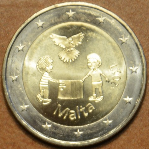 2 Euro Malta 2017 - From Children in Solidarity (UNC)