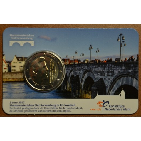 "2 Euro Netherlands 2017 - New mintmark ""bridge"" (BU)"